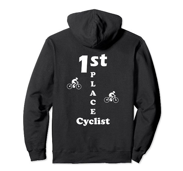 1st Place Cyclist back Hoodie